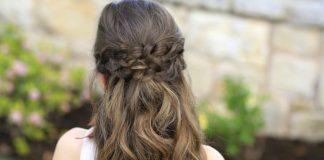 những kiểu tết tóc đẹp dễ làm