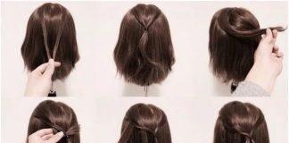 dạy tết tóc ngắn ngang vai
